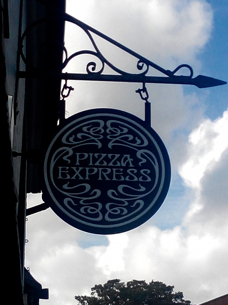 Gastro Ninjas: Gluten Free Pizza with exotic toppings - Pizza Express, England