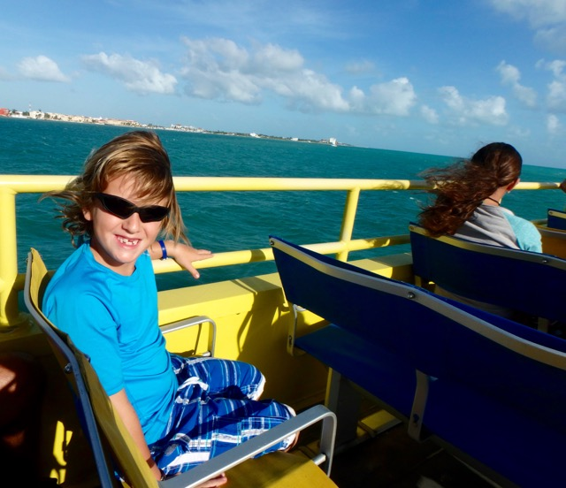 ZZ Ninja Kid: Planes, Trains, Autos & Boats #19 Cancun Catamaran