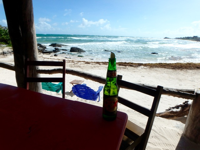 Gluten Free in Tulum & Cancun, Mexico. Zamas Beach Bar