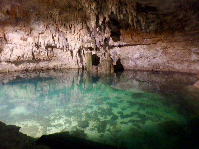 Cenotes - Swimming in Underground Lakes. Choo-Ha Cenote