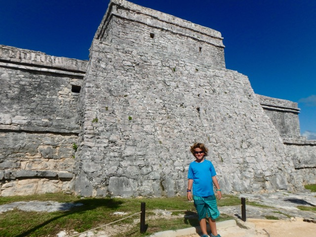 Tulum - Mayan Temple on a Caribbean Beach