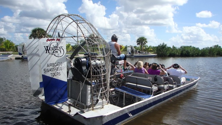 ZZ Ninja Kid: Planes, Trains, Autos & Boats #15 Chasing Gators, Everglades Airboat