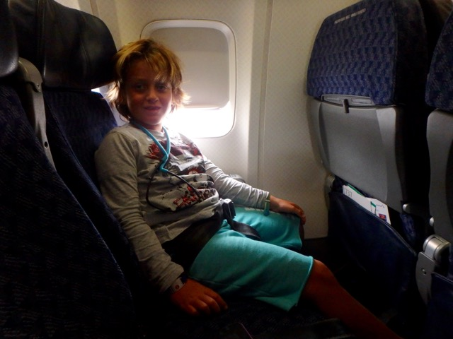 ZZ Ninja Kid: Planes, Trains, Autos & Boats #17 American Airlines, Miami to Cancun