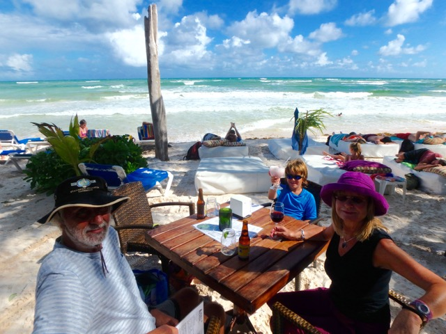 Gluten Free in Tulum & Cancun, Mexico. Ziggys Beach Bar