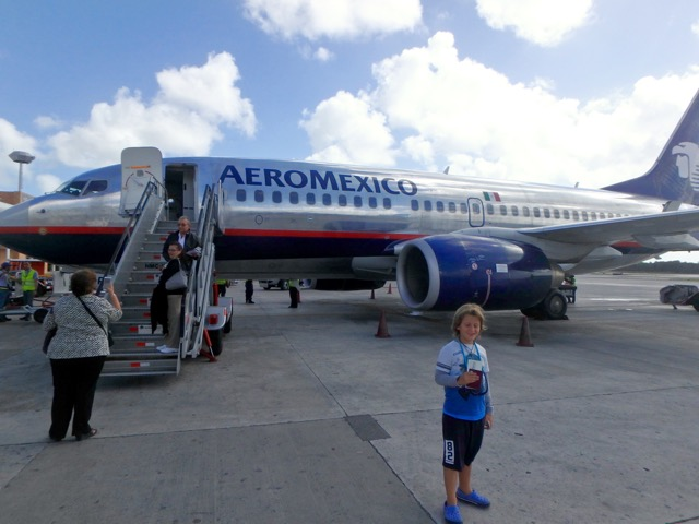 ZZ Ninja Kid: Planes, Trains, Autos & Boats #21 AeroMexico, Cancun - La Habana