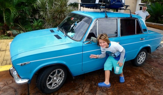 ZZ Ninja Kid: Planes, Trains, Autos & Boats #25 Vintage Russian Cars, Cuba