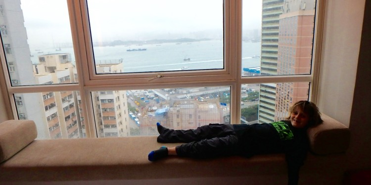 ZZ Ninja Kid: World Snooze Tour - Bed #35 Hotel Jen, Hong Kong