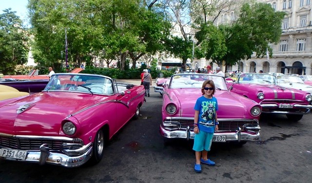 ZZ Ninja Kid: Planes, Trains, Autos & Boats #27 Vintage American Cars, Cuba