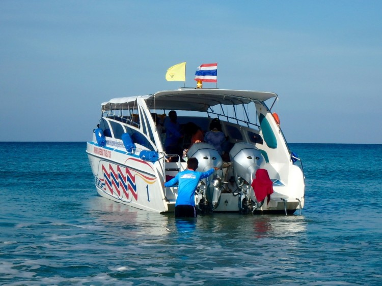 ZZ Ninja Kid: Planes, Trains, Autos & Boats #33 Boats in Thailand