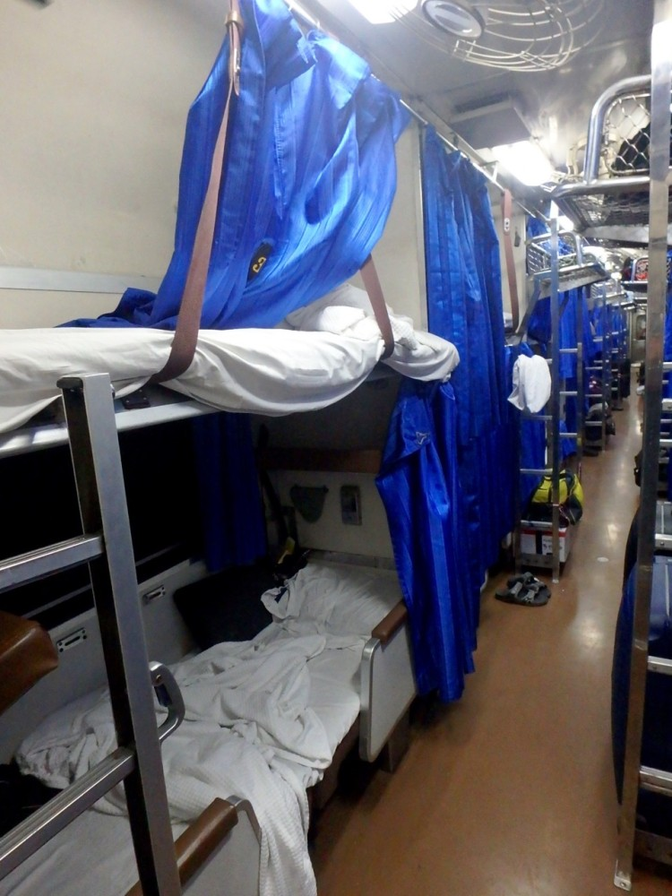 ZZ Ninja Kid: World Snooze Tour - Bed #37 Overnight train from Bangkok