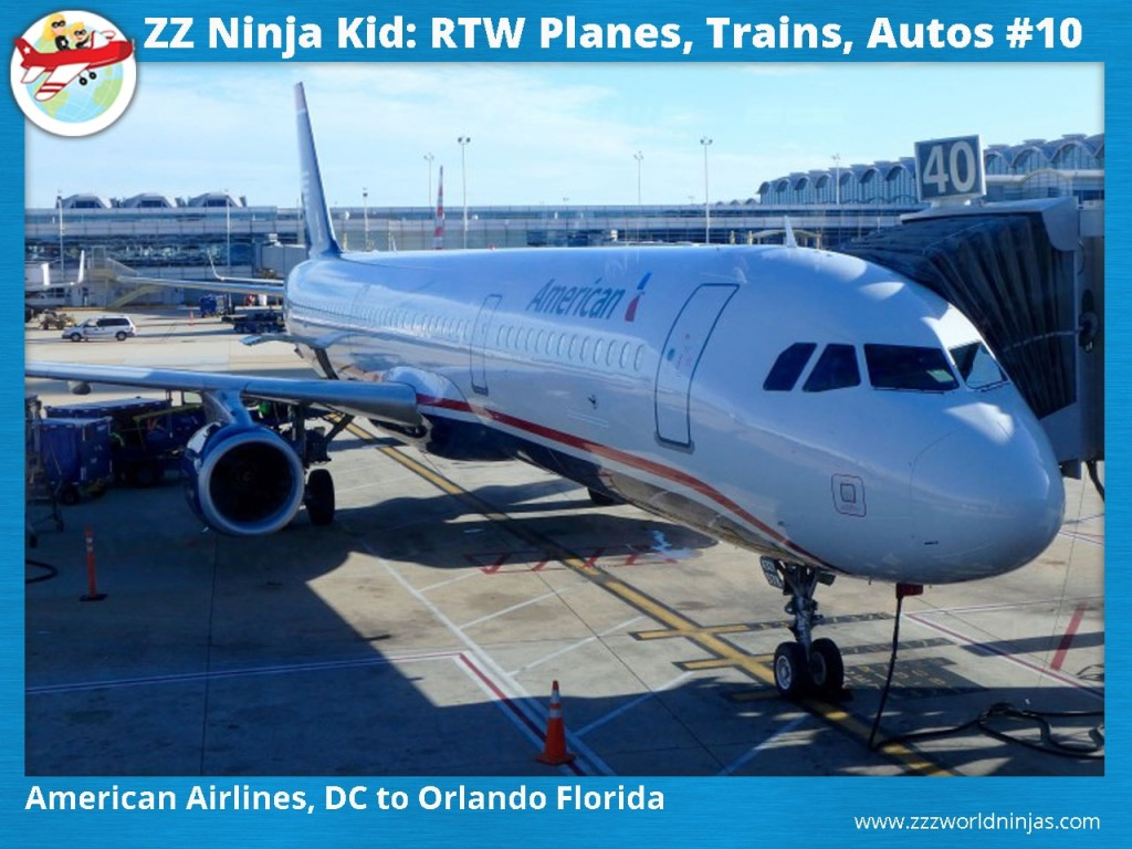 10 American Airlines, DC to Orlando Florida-min