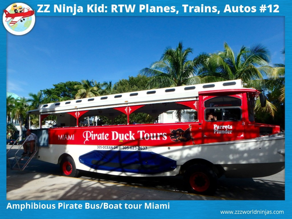 12 Amphibious Pirate BusBoat tour Miami-min