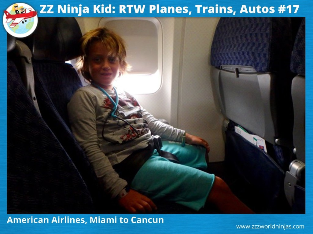 17 American Airlines, Miami to Cancun-min