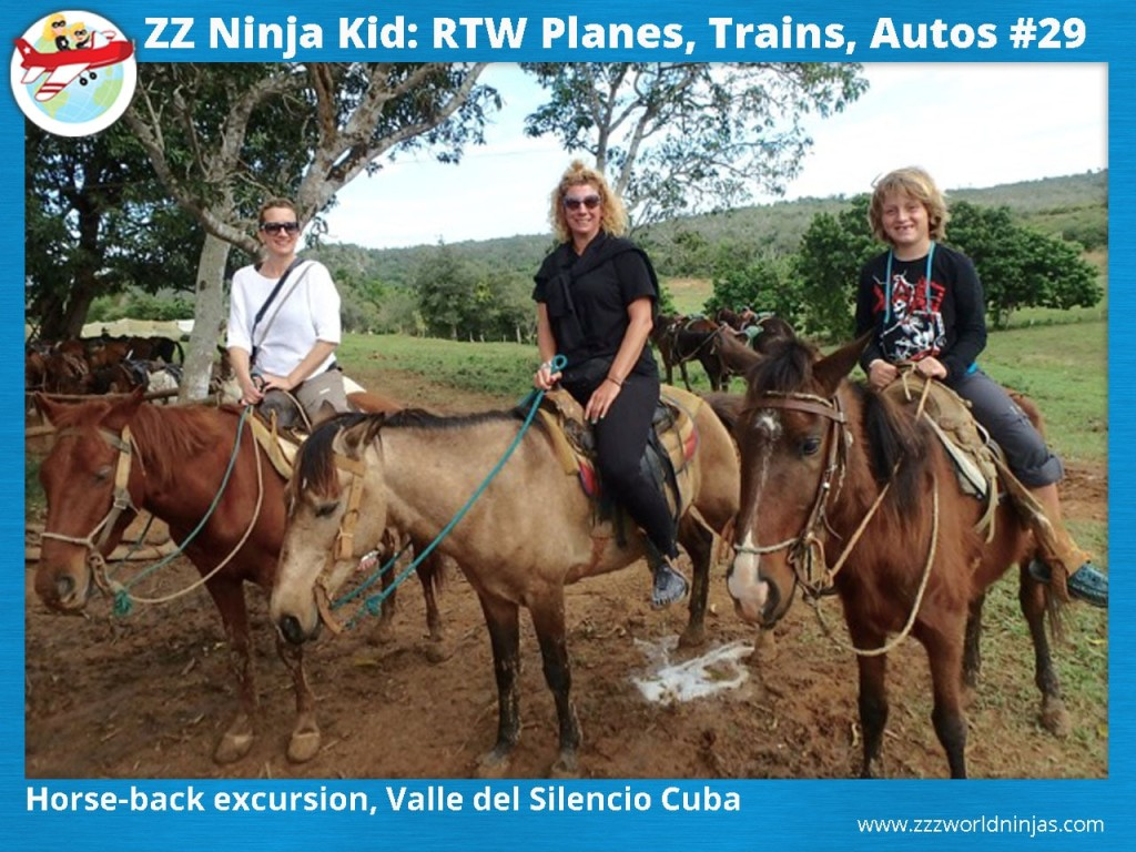 29 Horse-back excursion, Valle del Silencio Cuba-min