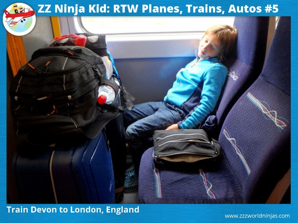 5 Train Devon to London, England-min